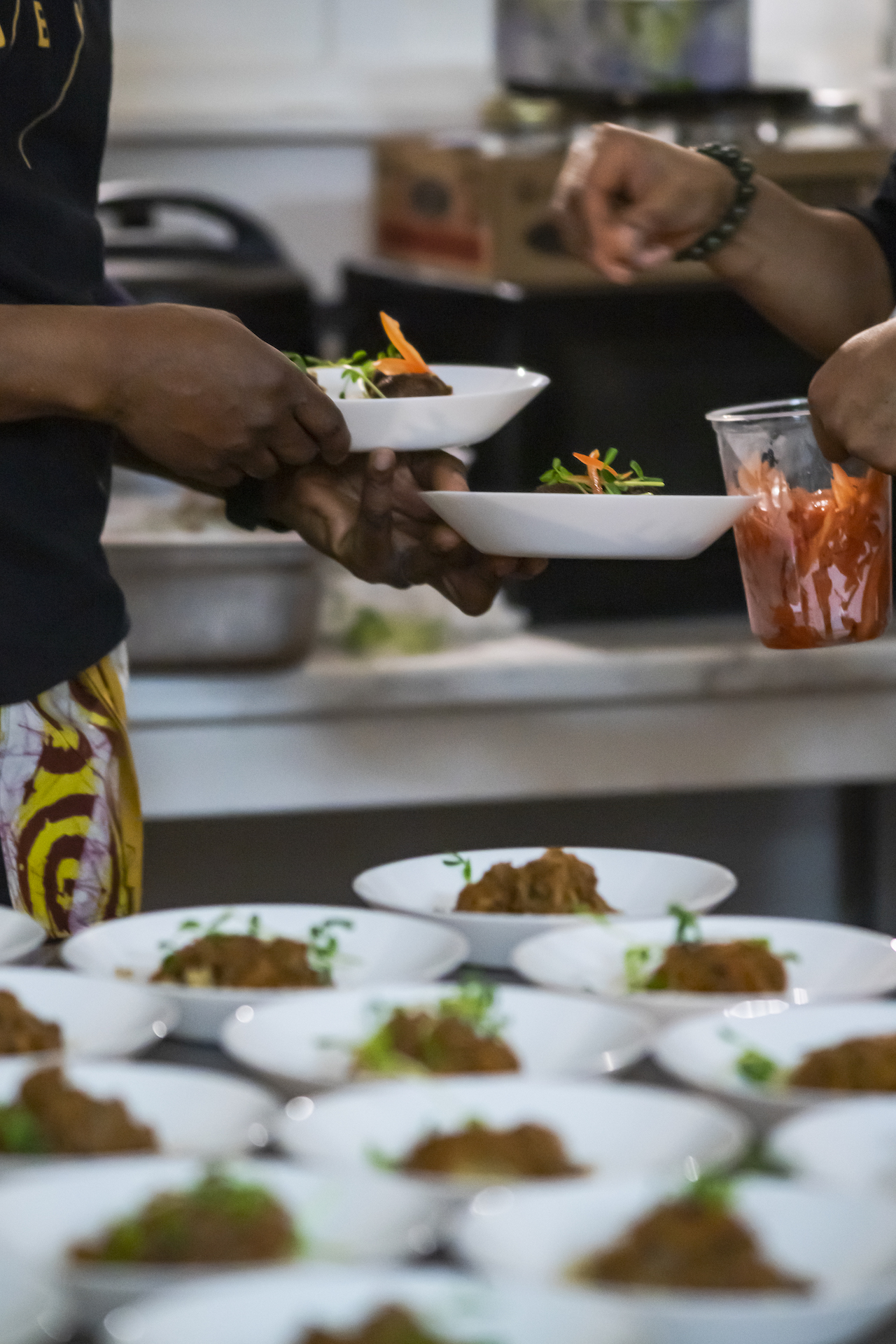 multiple bowls of African Cuisine